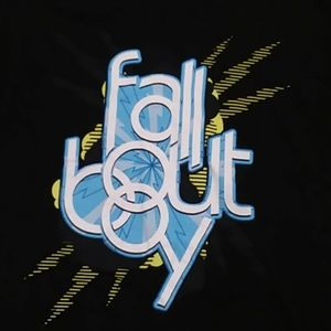 Fall Out Boy Band Graphic T-Shirt  Medium